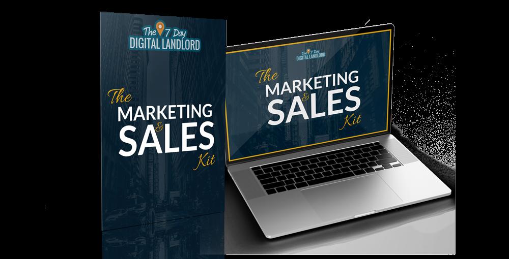 Upsell 4 - The Digital Landlord Marketing & Sales Kit - $47